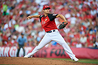 Team USA pitcher Colin Rea (29) in action during the MLB All-Star Futures Game on July 12, 2015 at Great American Ball Park in Cincinnati, Ohio.  (Mike Janes/Four Seam Images)