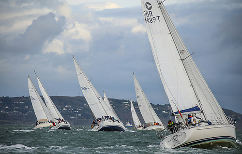 Racing in DBSC's summer series on Dublin Bay