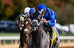 October 03, 2020:  Essential Quality with Luis Saez up wins the Claiborne Breeders Futurity Stakes at Keenland Racecourse, in Lexington, Kentucky on October 03, 2020.  Evers/Eclipse Sportswire/CSM