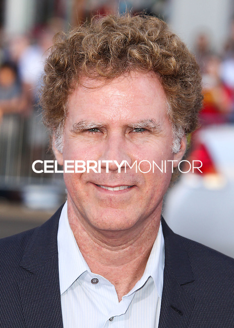 """HOLLYWOOD, LOS ANGELES, CA, USA - JUNE 30: Actor Will Ferrell arrives at the Los Angeles Premiere Of Warner Bros. Pictures' """"Tammy"""" held at the TCL Chinese Theatre on June 30, 2014 in Hollywood, Los Angeles, California, United States. (Photo by Xavier Collin/Celebrity Monitor)"""