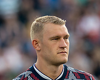 FOXBOROUGH, MA - JULY 27: Robin Jansson #6 during a game between Orlando City SC and New England Revolution at Gillette Stadium on July 27, 2019 in Foxborough, Massachusetts.