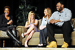 From left: Deborah Duncan, Leigh Anne Touhy, Collins Tuohy and Michael Oher at the Arrow Child & Family Ministries Ambassador Luncheon at the InterContinental Hotel Thursday March 4,2010. (Dave Rossman Photo)