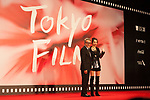 Movie, Namme, Zaza Khalvashi, Mariska Diasamidze appears on the opening red carpet for The 30th Tokyo International Film Festival in Roppongi on October 25th, 2017, in Tokyo, Japan. The festival runs from October 25th to November 3rd at venues in Tokyo. (Photo by Michael Steinebach/AFLO)