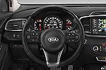 Car pictures of steering wheel view of a 2015 KIA Sorento Fusion AWD 5 Door Suv Steering Wheel