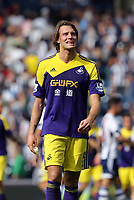 Pictured: Michu.<br /> Sunday 01 September 2013<br /> Re: Barclay's Premier League, West Bromwich Albion v Swansea City FC at The Hawthorns, Birmingham, UK.