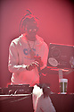 MIAMI, FL - FEBRUARY 01: DJ Sam Sneak performs on stage at the Welcome 2 Miami Music Festival – The King of Miami, at James L Knight Center on February 1, 2020 in Miami, Florida.   ( Photo by Johnny Louis / jlnphotography.com )