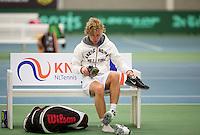 March 13, 2015, Netherlands, Rotterdam, TC Victoria, NOJK, Luuk Wassenaar (NED) Olger van Gent (NED)<br /> Photo: Tennisimages/Henk Koster