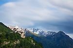 Vaduz, Rheintal, Rhine-valley, Liechtenstein.