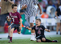 Stanford, CA - September 21, 2019: Next Level Flag Football at Stanford Stadium. The Stanford Cardinal fell to the Oregon Ducks 21-6.