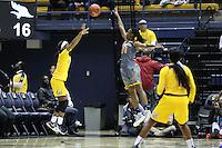 BERKELEY, CA - November 19, 2016: Cal Bears Women's Basketball team vs. the Cal State Bakersfield Roadrunners at Haas Pavilion. Final score, Cal Bears 86, Cal State Bakersfield Roadrunners 63.