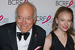 """Leonard Lauder and Danielle Lauder attend The Breast Cancer Research Foundation """"Super Nova"""" Hot Pink Party on May 12, 2017 at the Park Avenue Armory in New York City."""