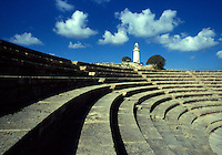 Cyprus. Paphos. The Odeon and Lighthouse.
