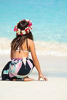 Kids at the Beach<br /> Caroline<br /> Trunk Bay, St John<br /> Virgin Islands National Park