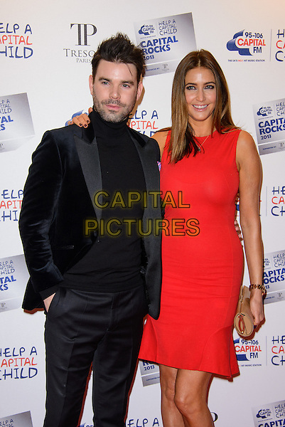 LONDON, ENGLAND - NOVEMBER 28: Dave Berry and Lisa Snowdon attend the annual 'Capital Rocks' concert in aid of the 'Help a Capital child' charity at The Roundhouse on November 28, 2013 in London, England. <br /> CAP/CJ<br /> ©Chris Joseph/Capital Pictures