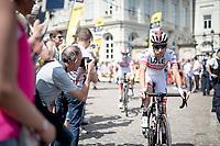 Fabio Aru (ITA/UAE-Emirates) at the start in Brussels<br /> <br /> Stage 1: Brussels to Brussels(BEL/192km) 106th Tour de France 2019 (2.UWT)<br /> <br /> ©kramon