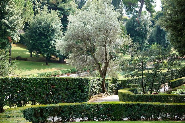 Gardens of the Villa d'Este, Tivoli, Italy - Unesco World Heritage Site.