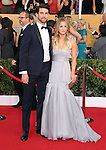 Kaley Cuoco and Ryan Sweeting  attends The 20th SAG Awards held at The Shrine Auditorium in Los Angeles, California on January 18,2014                                                                               © 2014 Hollywood Press Agency