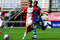 EMMEN - Voetbal, FC Emmen - Heracles Almelo , voorbereiding seizoen 2021-2022, 25-07-2021,  FC Emmen speler Jasin Assehnoun