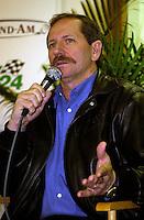 Dale Earnhardt, Sr. talks about driving the Corvette in the 24 Hours..39th Rolex 24 at Daytona, 3/4 February,2001 Daytona International Speedway  Daytona Beach,Florida,USA.©F.Peirce Williams 2001 ..