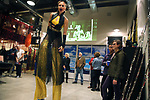 Rori from Rori & Vinnie Reno Tahoe Unified Flow, performed as they joined Dozens of artists from around the state of Nevada who performed or demonstrating their crafts at the annual Capital Collage in Carson City, Nev., on Friday, October 27, 2017.<br /> Photo by Lance Iversen/Nevada Momentum