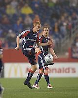 New England Revolution midfielder/defender Jeff Larentowicz (13). The New England Revolution tied the Colorado Rapids, 1-1, at Gillette Stadium on May 16, 2009.