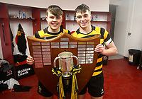 Friday 17th March 2017 | ULSTER SCHOOLS CUP FINAL<br /> <br /> Angus Adair and Ethan Field after the Ulster Schools Cup Final between RBAI and MCB at Kingspan Stadium, Ravenhill Park, Belfast, Northern Ireland.<br /> <br /> Photograph by John Dickson | www.dicksondigital.com