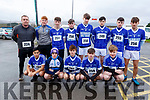 Members of the KOR GAA club ready for road at the Kerins O'Rahillys GAA Club 10k/5k race at the clubhouse on Sunday.