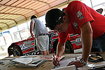 Feb 07, 2011; 2:29:05 PM; Gibsonton, FL., USA; The Lucas Oil Dirt Late Model Racing Series running The 35th annual Dart WinterNationals at East Bay Raceway Park.  Mandatory Credit: (thesportswire.net)