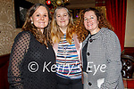 Theresa, Pauline and Sheila Carey enjoying the evening in the Grand Hotel on Saturday.