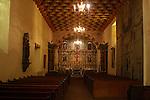 EMPTY CATHOLIC CHURCH IN MEXICO