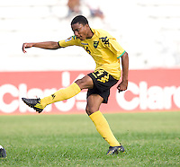 Jevani Brown. Panama defeated Jamaica, 1-0, during the third place game of the CONCACAF Men's Under 17 Championship at Catherine Hall Stadium in Montego Bay, Jamaica.