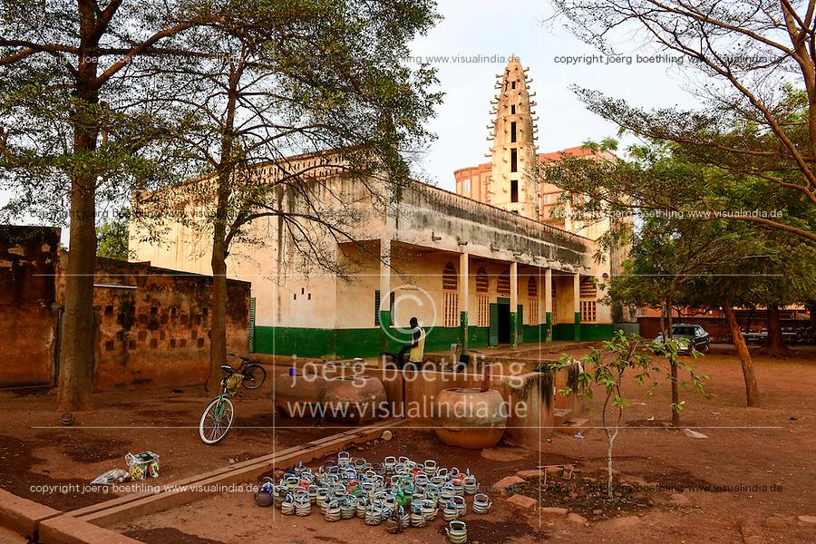 BURKINA FASO , Koudougou, grand mosque / Grosse Moschee