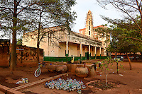 BURKINA FASO , Koudougou, grand mosque / Grosse Moschee