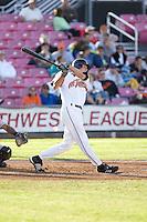 July 7, 2009: Salem-Keizer Volcanoes' Luke Anders at-bat during a Northwest League game against the Tri-City Dust Devils at Volcanoes Stadium in Salem, Oregon.