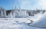 Yellowstone winter is beautiful.