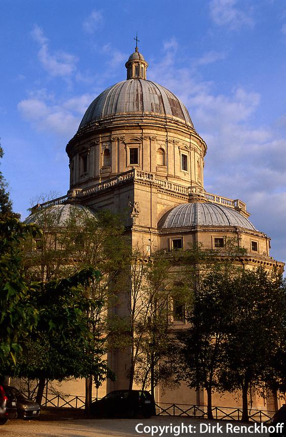 Kirche Santa Maria delle Consolazione, Todi, 14.Jh., Umbrien, Italien