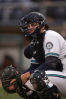 July 6 2009: Guy Welsh of the Everett AquaSox during game against the Yakima Bears at Everett Memorial Stadium in Everett,WA.  Photo by Larry Goren/Four Seam Images