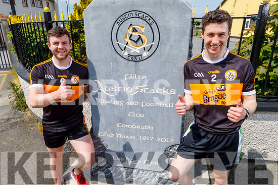 Cathal & Ciaran O'Reilly participated in the #Run4Pieta pictured at the Austin Stacks GAA Club on Saturday