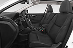 Front seat view of 2014 Nissan Qashqai Tekna 5 Door SUV front seat car photos