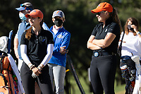 STANFORD, CA - MAY 10: Maisie Filler, Addison Baggarly at Stanford Golf Course on May 10, 2021 in Stanford, California.