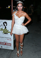 WEST HOLLYWOOD, CA, USA - OCTOBER 31: Dorothy Wang arrives at Adam Lambert's 2nd Annual Halloween Bash held at Bootsy Bellows on October 31, 2014 in West Hollywood, California, United States. (Photo by Xavier Collin/Celebrity Monitor)