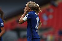 29th August 2020; Wembley Stadium, London, England; Community Shield Womens Final, Chelsea versus Manchester City; Magdalena Eriksson of Chelsea Women reacts to a missed chance on goal