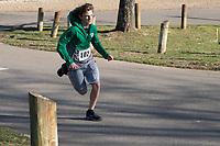The 2021 Barnesville Park Rotary Lake 5K walk/run, Barnesville, Ohio March 27, 2021.