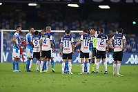 Atalanta remonstrate players<br /> Napoli 30-10-2019 Stadio San Paolo <br /> Football Serie A 2019/2020 <br /> SSC Napoli - Atalanta BC<br /> Photo Cesare Purini / Insidefoto