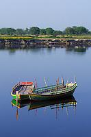 The Yamuna River in Virindavan, India