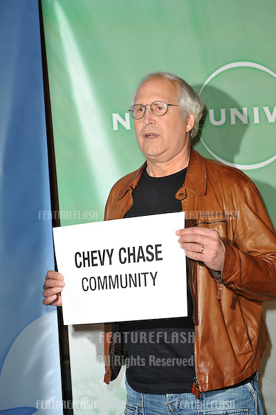 """""""Community"""" star Chevy Chase at NBC Universal's Winter 2010 Press Tour cocktail party at the Langham Huntington Hotel, Pasadena..January 10, 2010  Pasadena, CA.Picture: Paul Smith / Featureflash"""