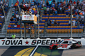 #20: Christopher Bell, Joe Gibbs Racing, Toyota Supra Ruud drives under the checkered flag to win
