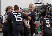 Goal Celebration. US Men's National Team Under 17 defeated Malawi 1-0 in the second game of the FIFA 2009 Under-17 World Cup at Sani Abacha Stadium in Kano, Nigeria on October 29, 2009.