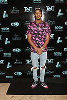 MIAMI, FL - FEBRUARY 19: Tomlinson attends Floyd Mayweather's 44th futuristic Birthday Party at Casablanca on the Bay on February 19, 2021 in Miami, Florida. Photo Credit: Walik Goshorn/Mediapunch