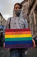 17.10.2020 - Dalla Parte Dei Diritti - Demo For The Zan Bill Against Homotransphobia and Misogyny